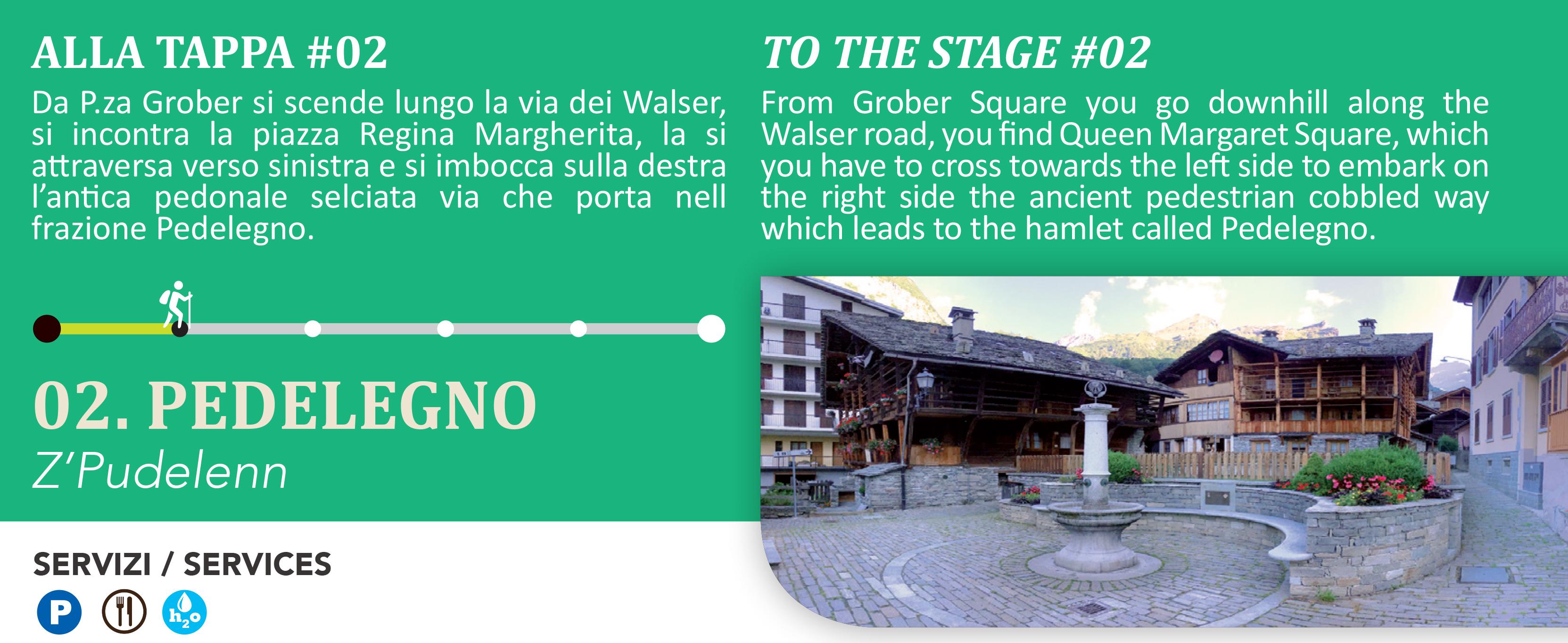 Pedelegno frazione del centro di Alagna Valsesia
