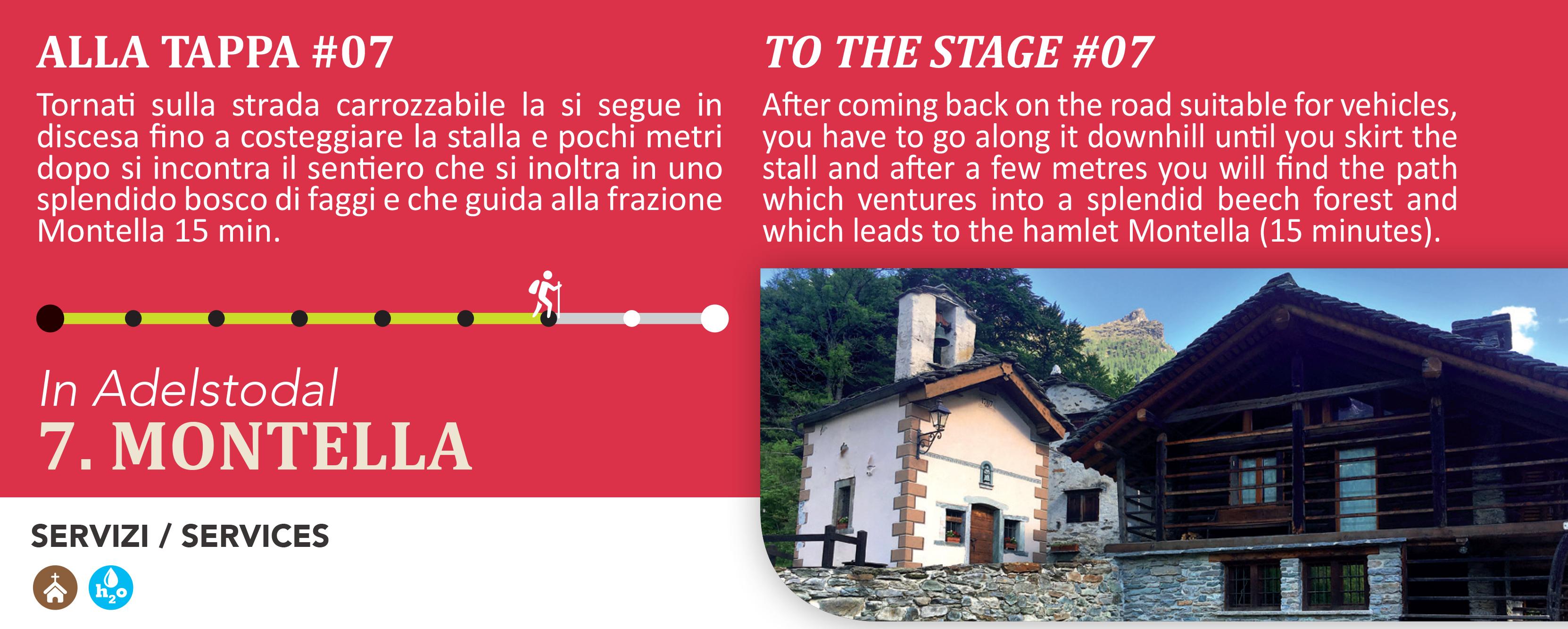 Montella frazione alta di Alagna Valsesia