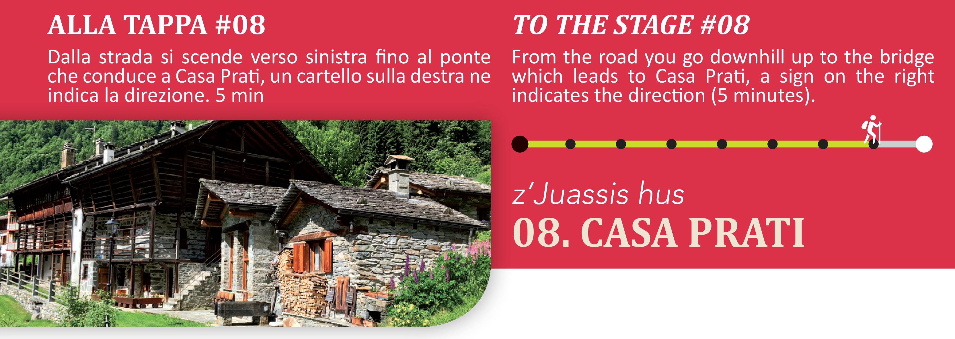 Casa Prati frazione alta di Alagna Valsesia