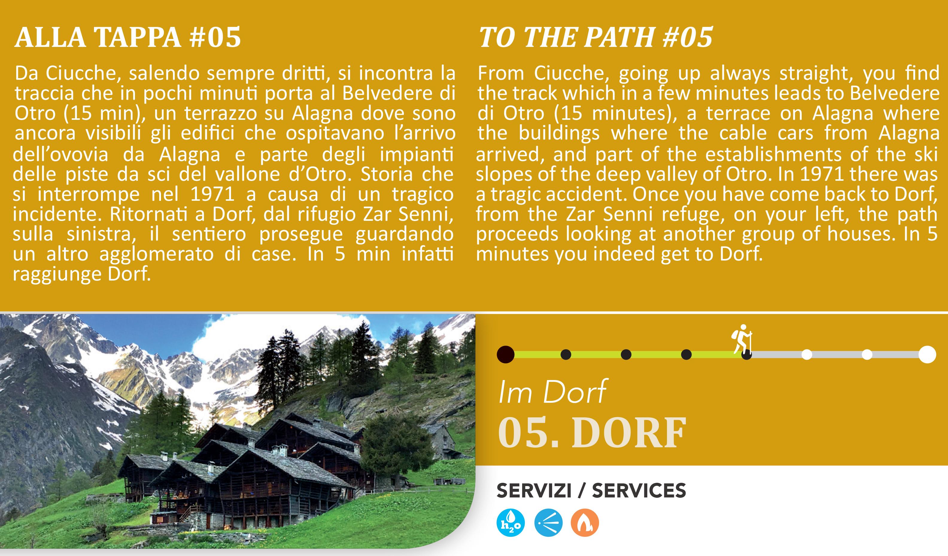 Dorf frazione di Otro di Alagna Valsesia